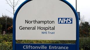 Northampton General Hospital is under pressure