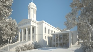 Artist impression of the renovated venue