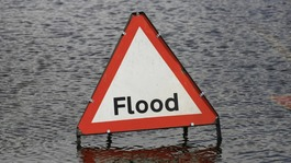 Flooding in the Anglia region