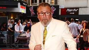 The Sweeney star Ray Winstone says he is nothing like his hard-man image in real life
