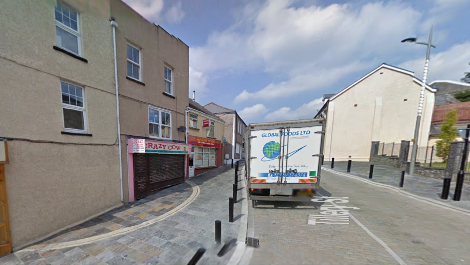 Appeal After Internet Cafe Is Burnt Down Wales Itv News