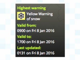 Weather Warnings