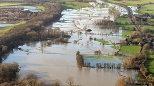 Flooding of the Waveney Valley