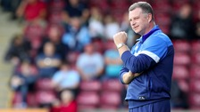 Scunthorpe manager, Mark Robins, is hoping for a giant-killing against Premier League Chelsea