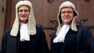 Edward Garnier MP, right, has lost his role as Solicitor General