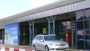 Norwich Airport was closed to planes for four hours