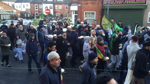 Sheffield procession