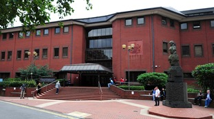 A general view of Birmingham Crown Court