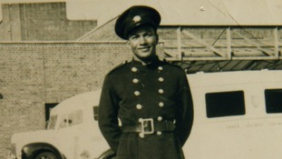 Frank Arthur Bailey joined West Ham Fire Brigade in 1955
