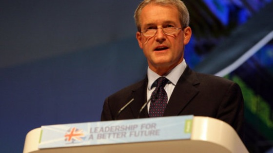 Owen Paterson MP, becomes Environment Secretary