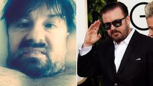 Ricky Gervais offends before Golden Globes even begin