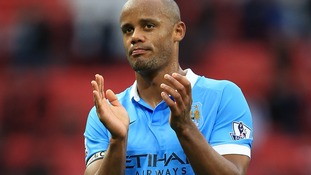 Vincent Kompany was reportedly on board the plane that came off the runway.