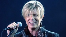 David Bowie whose death was announced today aged 69