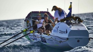 The teams left the Canary Islands on 15 December and have to row 3,000 nautical miles to Antigua.