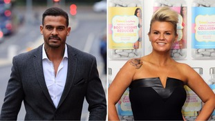 Kerry Katona's estranged husband George Kay denies assaulting her