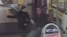The attack on the 76-year-old man was captured on CCTV.
