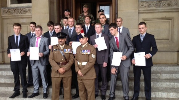 Young people sworn in as soldiers in Birmingham