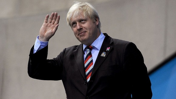 The Mayor of London Boris Johnson.