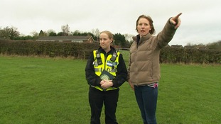 Police want the public to report anything suspicious in the countryside.