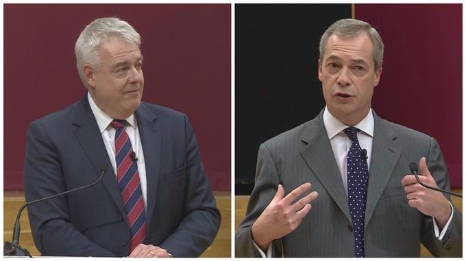 Carwyn Jones Nigel Farage