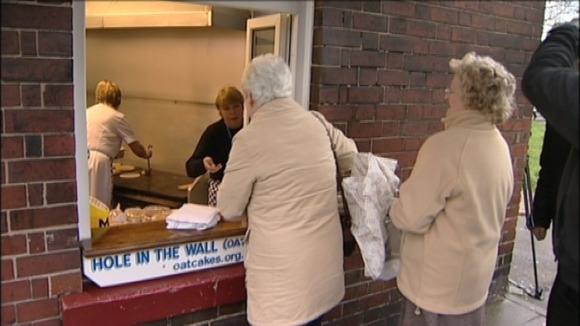 The Hole In the Wall is the last surviving oatcake shop in the world