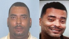 "The unflattering mugshots of wanted man Donald ""Chip"" Pugh"