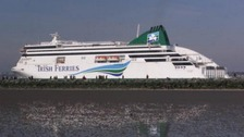 An example of the type of ferry the man died onboard