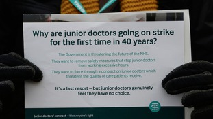 Junior doctor strikes in Birmingham today