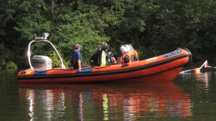 Police search the River Bure
