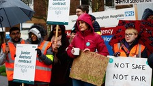 The strike at Sandwell Hospital