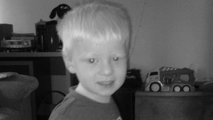 Bryn Anderson, aged 3