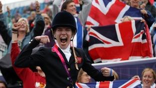 Britain's Sophie Christiansen.
