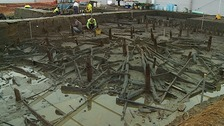 Bronze Age homes which have been buried for 3,000 years have been unearthed near Peterborough.