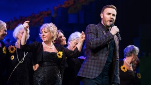 Gary Barlow stuns audience of his musical 'The Girls' by joining cast on stage for surprise performance