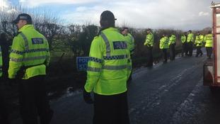 Nine charged after eviction of anti-fracking protest camp