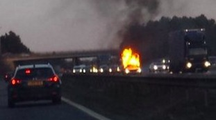 Bomb disposal unit called to M11 fatal fire as precaution
