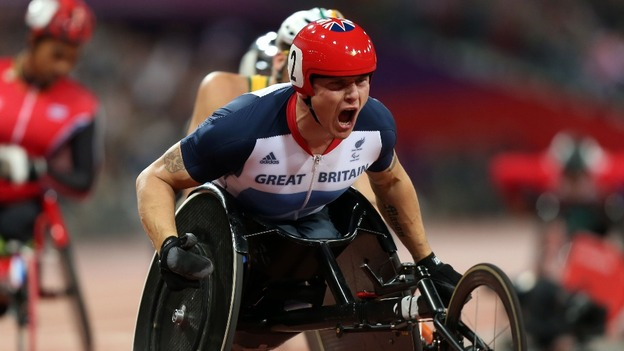 David Weir is a three-time Paralympic gold medallist.