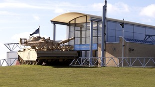 The Land Warfare Hall at Duxford