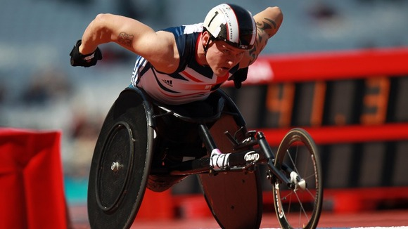 David Weir is a four-time Paralympic gold medallist.