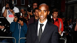 Double Olympic gold medallist Mo Farah.