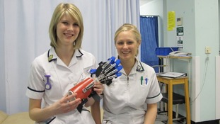 Stroke patients benefit from 'bionic arm'