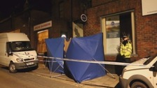Police were called to reports of a serious assault outside Jock's Barbers in Blandford.