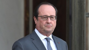 Francois Hollande has sent his condolences to families of the victims of the avalanche in Isere.