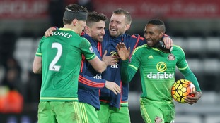 Premier League match report: Swansea 2-4 Sunderland