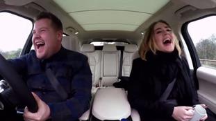 Adele and James Corden duet in 'best ever' Carpool Karaoke