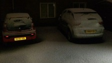 People across the Midlands have been posting pictures on social media of snow in their area.