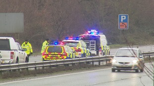 The man's body was found by the side of the A47.
