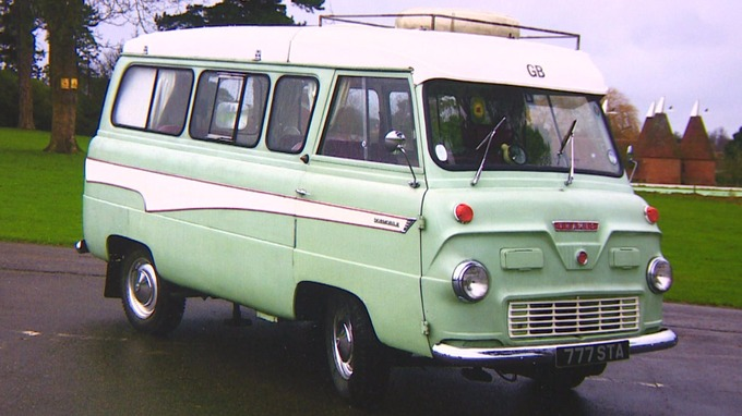 The Stolen Ford Thames 400E