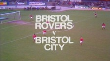 Fans of Bristol City and Bristol Rovers have been given the chance to re-live history.