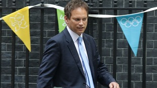 The newly named co-chairman of the Conservative Party Grant Shapps.